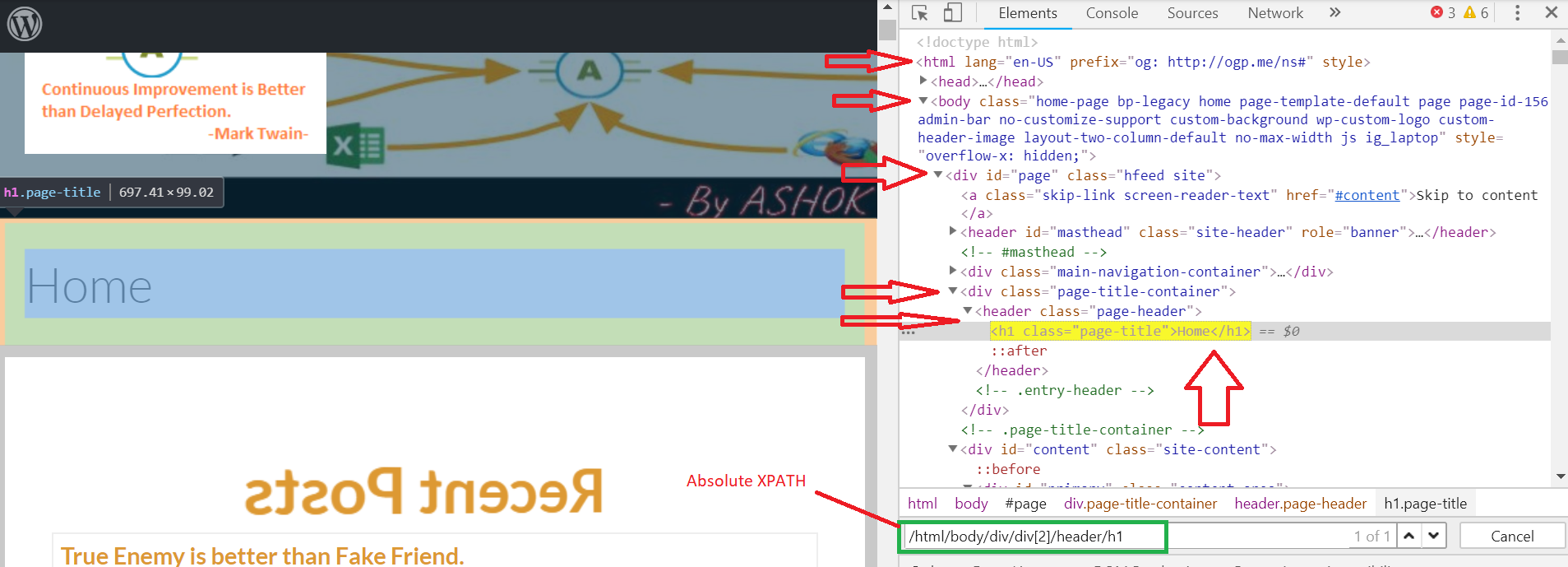 Selenium-6 || XPath is the best way to locate web elements